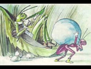 ant grasshopper 1