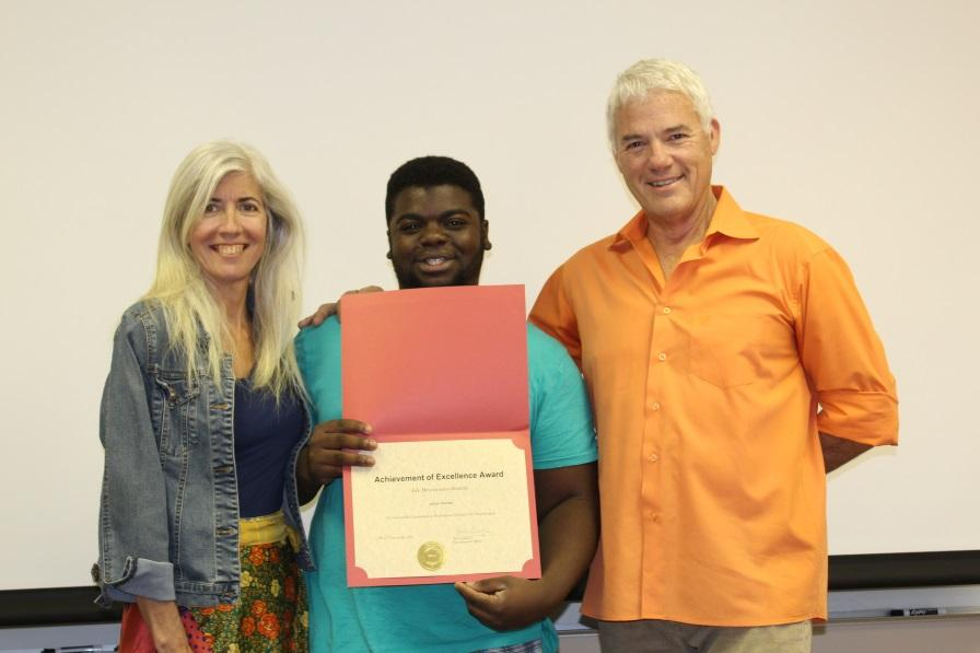 Building on Successes and Moving Forward: Congratulations to Jordan H.!