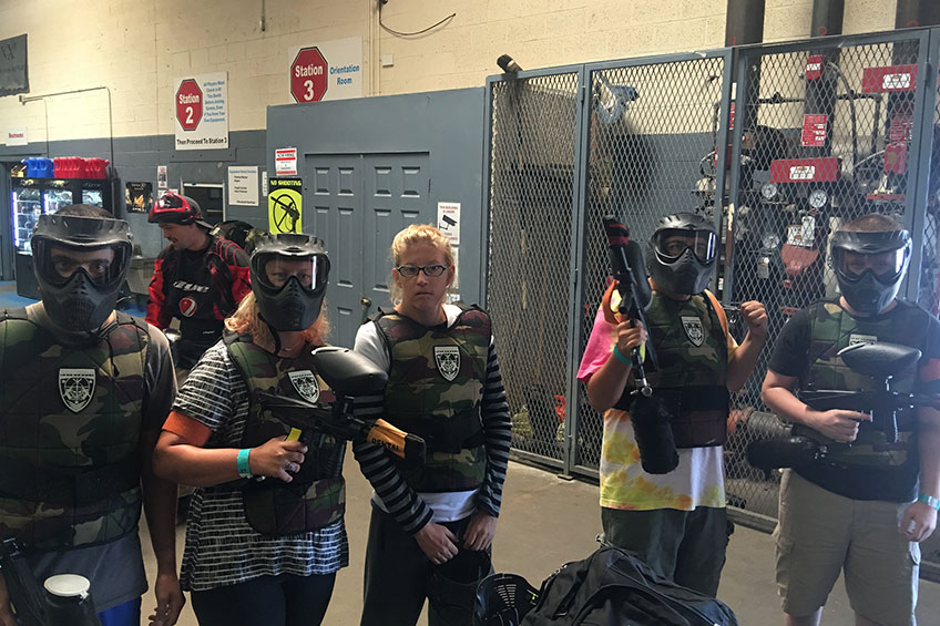 LDI Student Life: Westworld Paintball and In-N-Out Burger